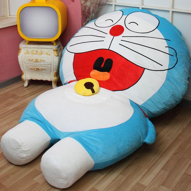 Doraemon plush bed Giant cushion bed 哆啦a梦机器猫卡通榻榻米床垫 懒人沙发卡通榻榻米床垫