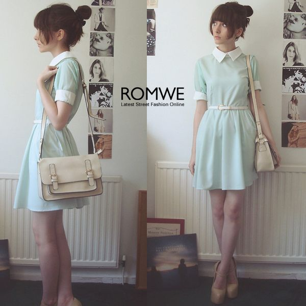 i really, really fell in love with this dress, i want it in pink<3