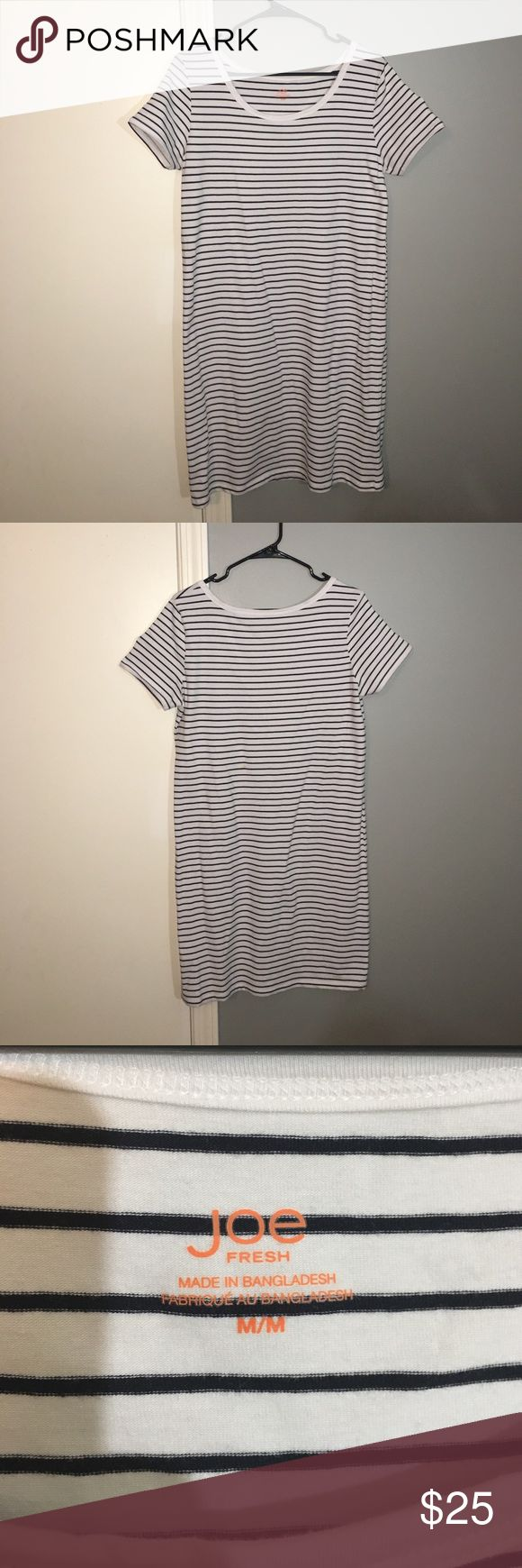 Joe Fresh T-Shirt Dress Joe Fresh T-shirt Dress. Never worn. Very comfy. Great condition! Joe Fresh Dresses