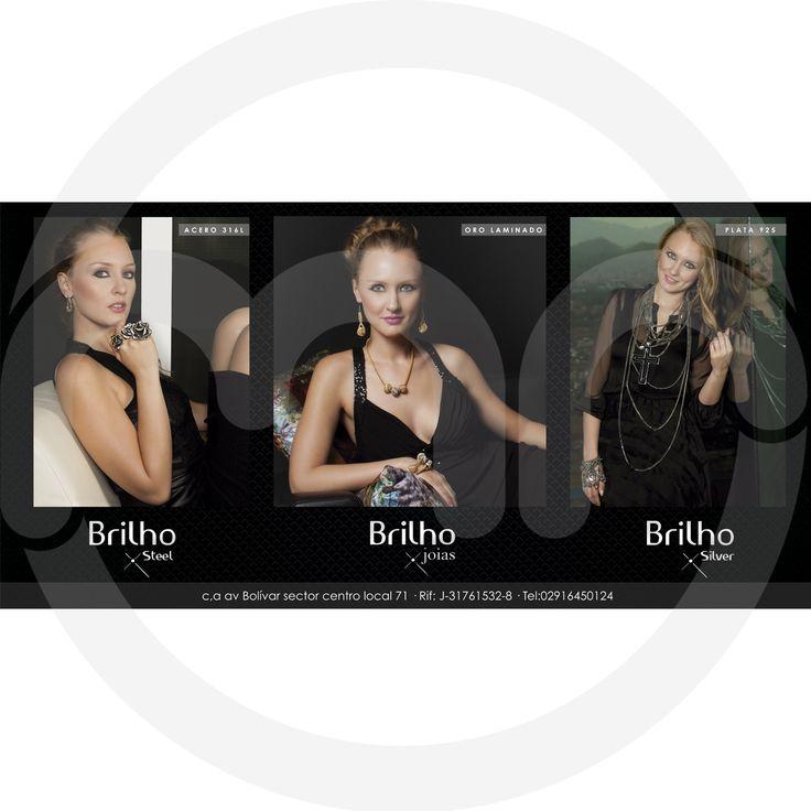 Diseño para Brilho Joias. Diseño, publicidad.