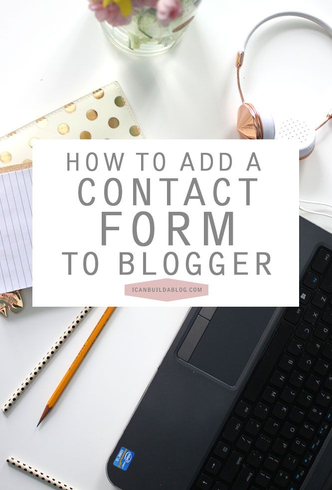 Not for the faint-hearted or the beginner - this is a brilliant tutorial on how to add a contact form onto a Blogger blog - works perfectly and looks great: http://icanbuildablog.com/2015/04/how-to-add-a-contact-form-on-a-blogger-blog/