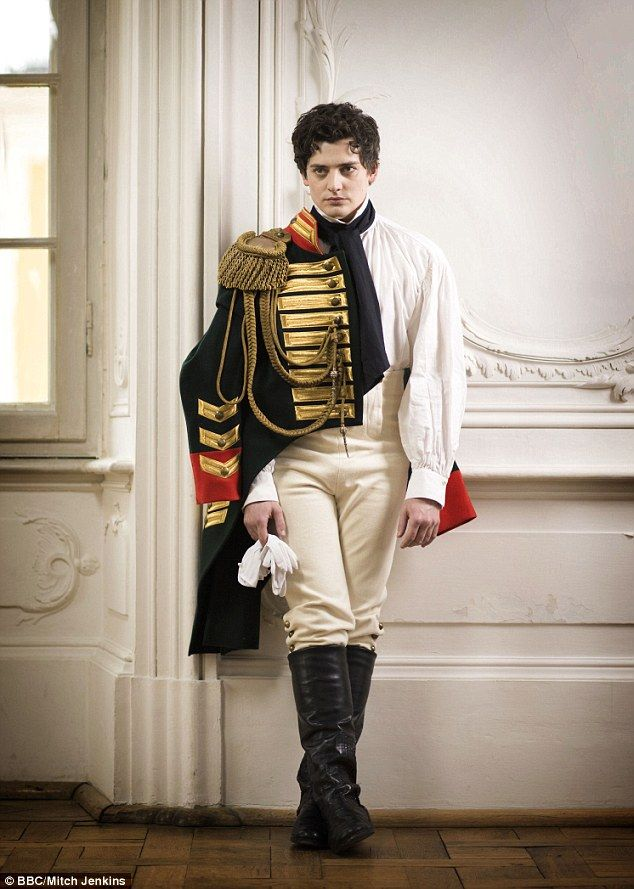 Power driven social climber: Aneurin Barnard, 28, plays Boris Drubetskoy, an ambitious man who wants to rise in society