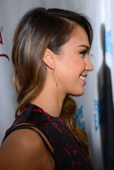 Jessica alba braune haare