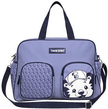 Bolsa Maternidade Grange Azul Tigor T. Tigre