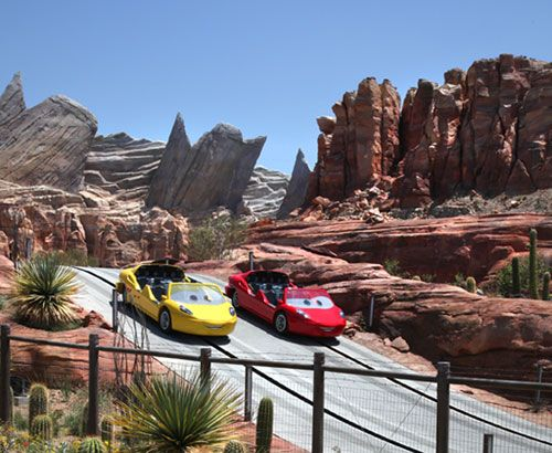 Cars Radiator Springs, California World - wicked!