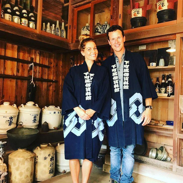 Candace Cameron Bure & Scott Weinger - Japan