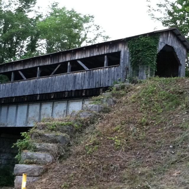 Covered Bridge In Cumberland Gap Tn Back Where I Come