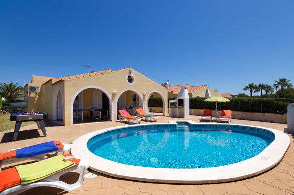 Villa Neptune, Calan Bosch, Menorca, Spain. Find more at