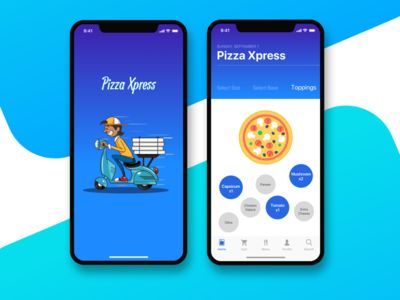 Pizza Express - Pizza ordering app!