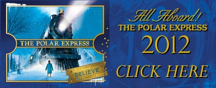 Take the kids on a pyjama polar express train ride.... Wow!