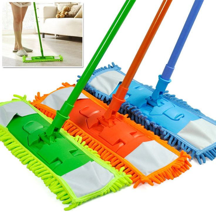 Depiction of Some Chic Dust Mop Design that is Perfect for Wood Floor