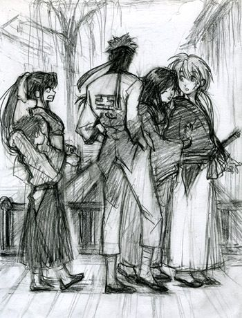 Just A Blog For All Things Rurouni Kenshin I Post Mostly Fanart But Also