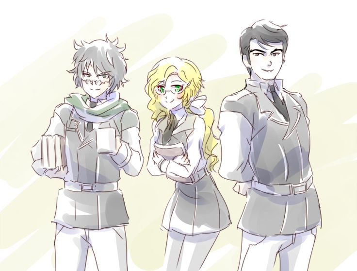 Ozpin, Goodwitch and Ironwood