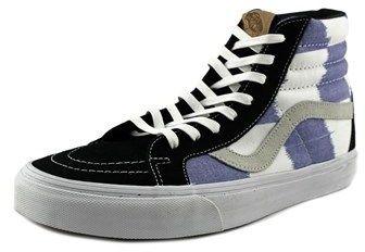 Vans Sk8-hi Reissue Ca Round Toe Suede Skate Shoe.