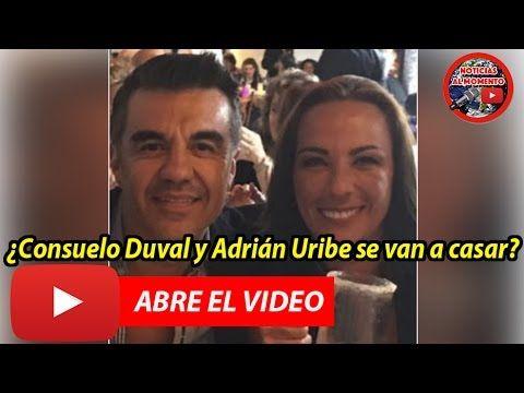 ¿Consuelo Duval y Adrián Uribe se van a casar? 🔴  | Noticias al Momento