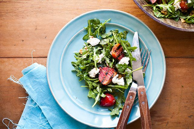 Grilled Beet salad// the year in food by continental drift, via Flickr