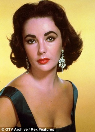 Glittering star: Along with her Raven-haired Beauty, Elizabeth Taylor was well-known for the fabulous Collection of Jewels