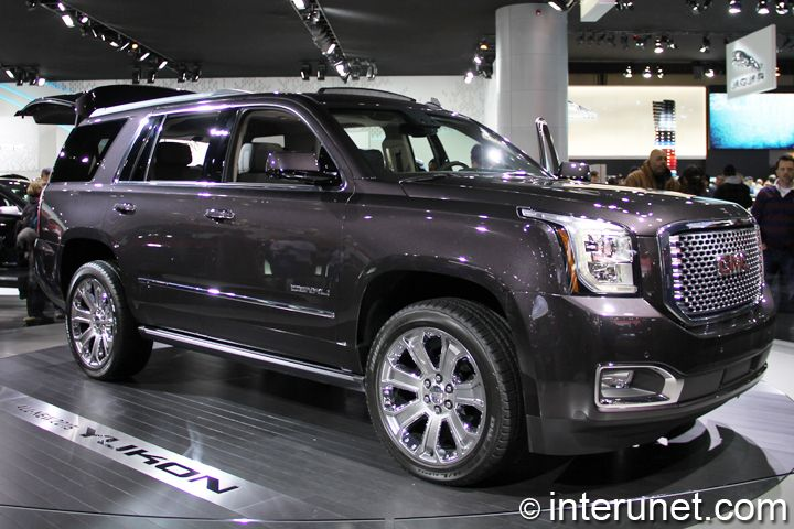 denali | 2015 GMC Yukon Denali on display at North American International Auto ...