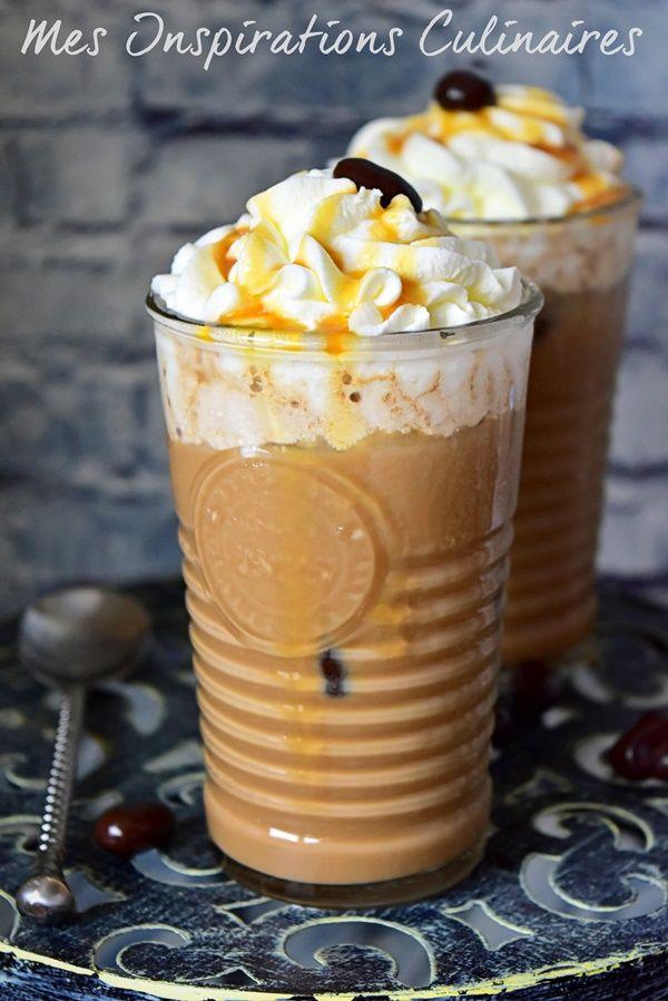 Le Café mocha maison comme au Starbucks au caramel beurre salé