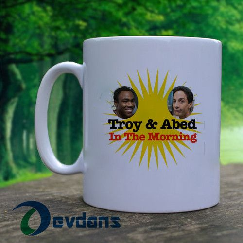 Community Troy and Abed in the Morning Mug, Ceramic Mug,Coffee Mug