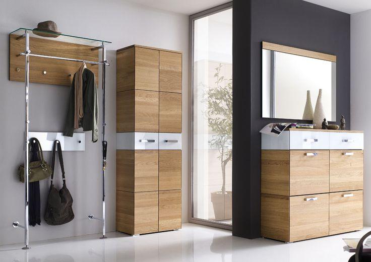 wittenbreder garderobenkombination massello bestehend aus schuh klappschrank spiegel. Black Bedroom Furniture Sets. Home Design Ideas