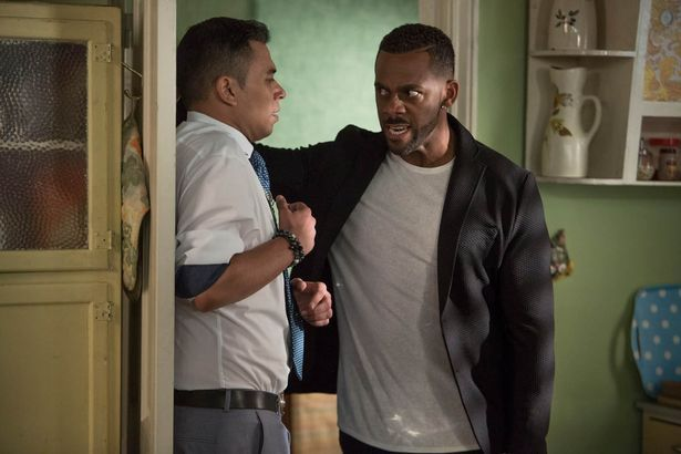 EastEnders - A furious Vincent tells Fatboy he is not impressed with how he has treated Donna