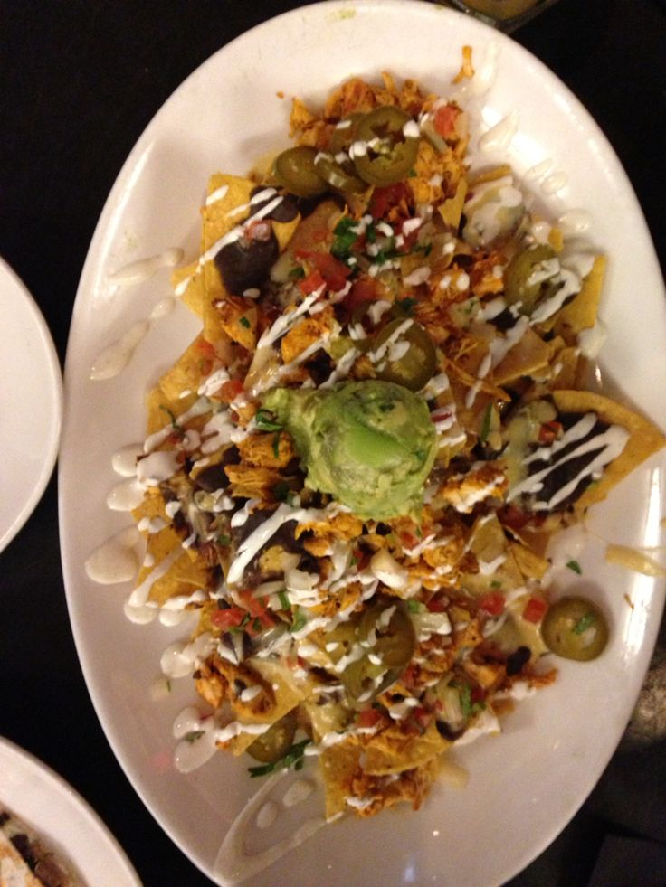 Nachos. I don't really remember from where.