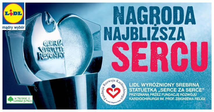 """We współpracy z Fundacją przygotowaliśmy specjalną ofertę produktów przyjaznych sercu. Wybór tych produktów ma znaczenie nie tylko w codziennej profilaktyce chorób układu krążenia, ale również wspiera rozwój polskiej kardiochirurgii. Lidl Polska wspiera działalność Fundacji w ramach Kampanii Informacyjnej """"Mały procent, wielka pomoc"""", w ramach której informujemy zarówno naszych Klientów, jak i Pracowników o możliwości przekazania 1% swojego podatku na jedną z wspieranych przez nas…"""