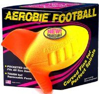 AEROBIE® Football The Aerobie football's curved fins generate perfect spirals every time and its durable foam makes for soft catches.