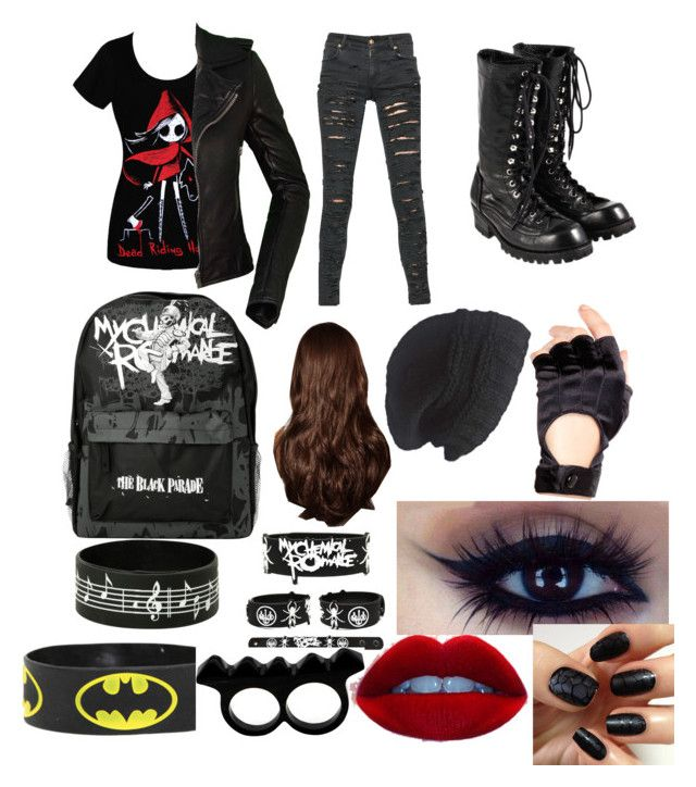 """Mattie-emo phase"" by mrskellinquinn ❤ liked on Polyvore"