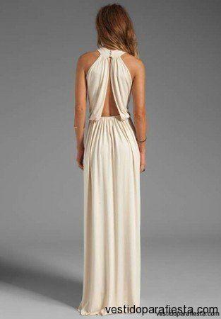 Elegantes y modernos vestidos largos de fiesta con escote en la espalda - 14   Vestidos Para Fiestas 2014