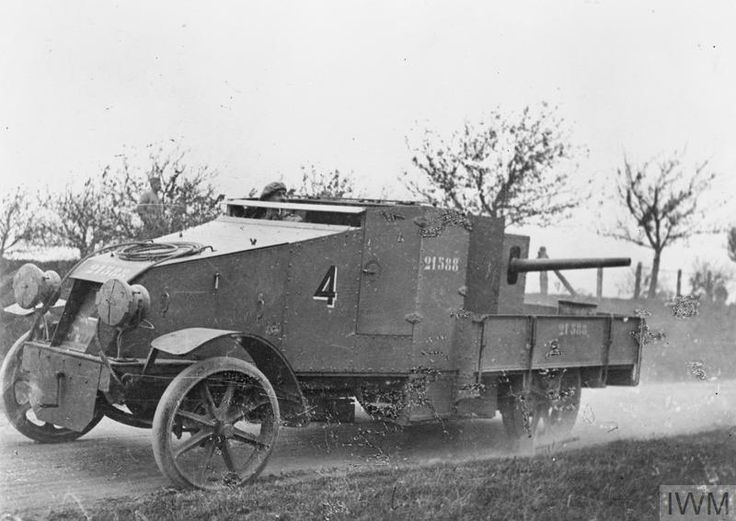 "WWI covered live on Twitter: ""Français 47mm gun sur la voiture blindée-French armoured car w 47mm gun,serial #21588,Sains-en-Amienois Oct 13 1916 https://t.co/YMCqnpVnFd https://t.co/Yff0JFt68O"""