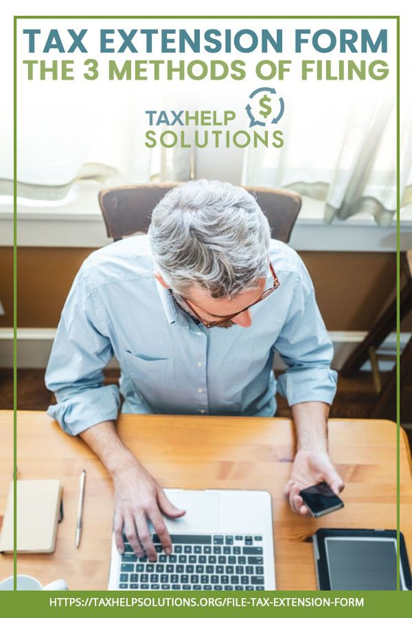 How To File A Tax Extension Online And On Paper Tax Extension
