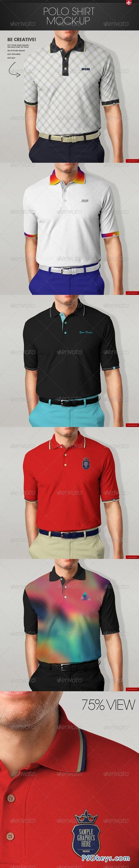 Polo Shirt Mock-up 7245899