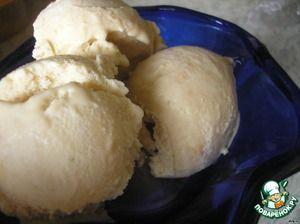 Замороженный йогурт с вареной сгущенкой