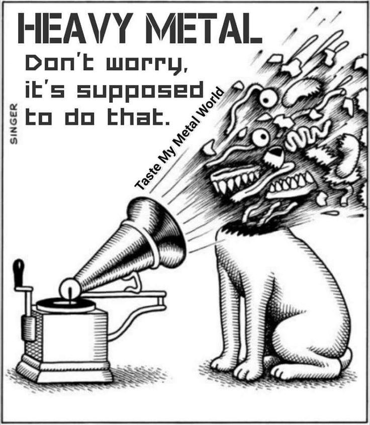 HMV .... Heavy Metal Violence