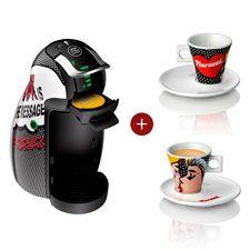 Cafetera Nescafe Dolce Gusto Automatica Fiorucci Edición Especial y Juego de 2 Tazas