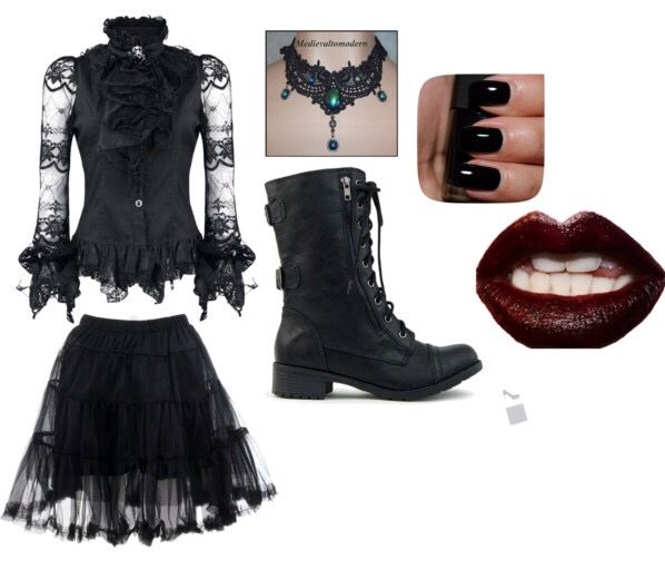 Gothic outfit