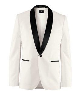 HM H & M черный белый лацкане жениха платье костюм костюм европейского покупке подлинных 920 акций - Taobao