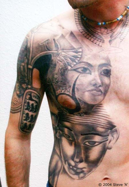 Egyptian Tattoo Designs Aside from the colorful history and rich cultural background, Egypt is indeed regarded as the land of great mysteries. Description from pinterest.com. I searched for this on bing.com/images
