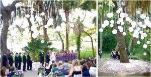 3 Cheap DIY Wedding Decorations With A Decor That Has A White Color Decoration