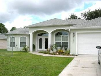 Home for sale in PORT CHARLOTTE FL 269 900 USD     $269,900  3 bedrooms 2 bathrooms  what a property! large 3 bedroom/2 bath/2car garage pool home plus 30x40 detached 4-car garage and three additional lots. this totals over an acre! the home is immaculate and features a very open floor plan, with living room/dining room open to kitchen,,breakfast nook, and family room.