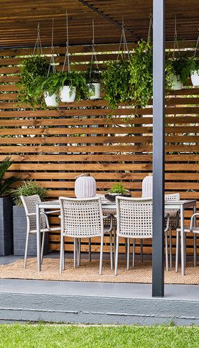 Seven ways to improve your outdoor space: Spruce up your outdoor entertaining area this weekend.