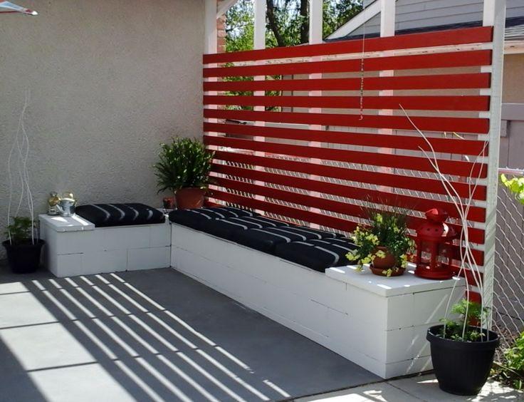 25 best ideas about patio bench on pinterest diy garden - Patio furniture ideas pinterest ...