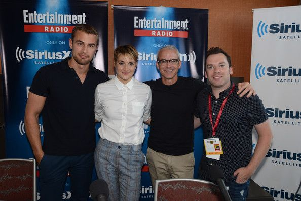 Shailene Woodley Photos: SiriusXM's Entertainment Weekly Radio Channel Broadcasts From Comic-Con 2014