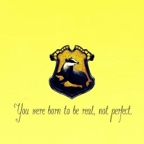 Took the pottermore quiz and got Hufflepuff. Always thought Id be a ravenclaw but to be honest I've read all about Hufflepuff since then and couldn't be happier!