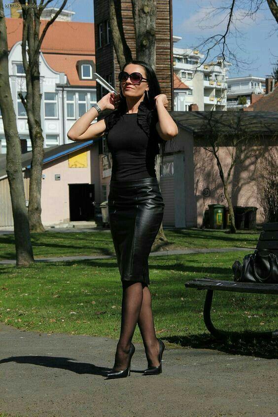 Lederlady ❤ #hothighheelstightdresses