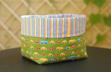 Текстильные корзинки для хранения мелочей
