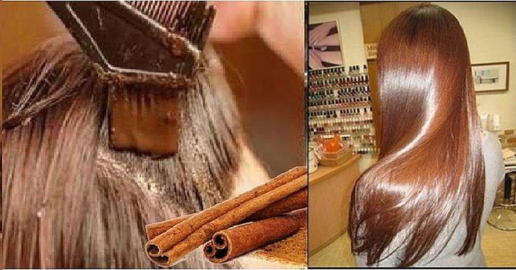 Poderoso tinte casero a base de canela para teñir el cabello sin maltratarlo y en poco tiempo