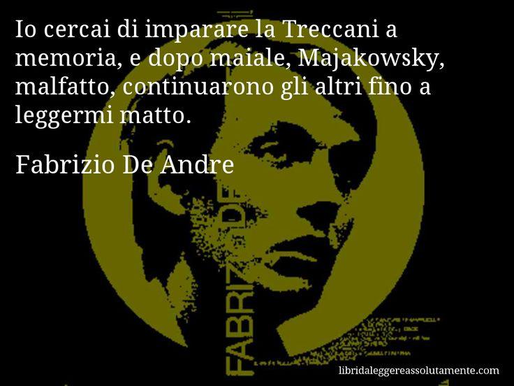 Cartolina con aforisma di Fabrizio De Andre (28)